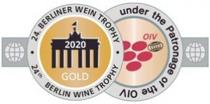 vino con medalla oro berliner wine trophy